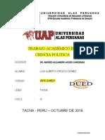 Ciencia Politica Luis Alberto Orozco