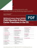 IBISWorld - Child Education & Developmental Center Franchises in the US - 2018