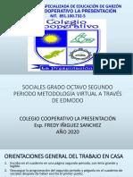 ORIENTACIONES SOCIALES GRADO OCTAVO SEGUNDO PERIODO