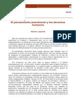 PENSAMIENTO POSTCOLONIALY DH