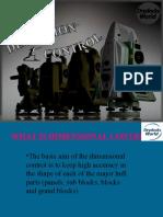 dimension control