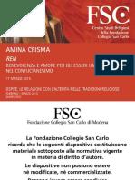 """Amina Crisma """"REN"""""""