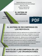 EL SISTEMA DE RENCOMPENSA...