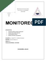 CONFERENCIA. MONITOREO