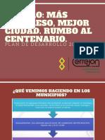 Presentación Analisis PDM MAICAO