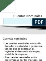 Cuentas Nominales