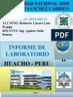 ENSAYO DE COMPRESION Y ALABEO 2019 - II