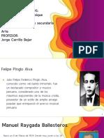 ACTIVIDAD 15 LA MÚSICA EN EL PERÚ PRINCIPALES COMPOSITORES
