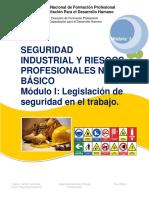 Manual de Seguridad Industrial y Riesgos Profesionales nivel básico módulo I_2016