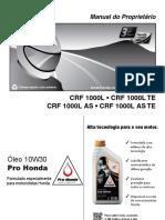 Manual de usuario CRF1000L