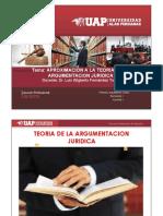 SEMANA 1 APROXIMACION A LA TEORIA DE LA ARGUMENTACION JURIDICA