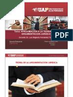 UNIDAD I SEMANA 3 APROXIMACION A LA TEORIA DE LA ARGUMENTACION JURIDICA