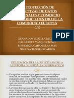 DIRECTIVAS DE PROTECCION DE DATOS Y COMERCIO ELECTRONICO