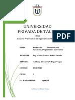 T3 - Producción para Frutas y Hortalizas - Operación, Disposición e Innovación - Villegas Vargas