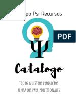 Más materiales - Nuevo catálogo