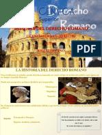 Diapositivas Historia del Derecho Romano