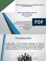 PresentaciónFASE4_ModeloLiderazgo_Juan Nicolas Gomez Q