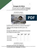 Dosages du béton _ calcul des quantités - GuideBeton.com.pdf