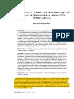 26. La esclavitud, el crimen que nunca desapareció. La trata de personas en la legislación internacional - ARGENTINA.pdf
