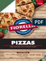 Carta Menu Pizzas Restaurante Fiorella 2019