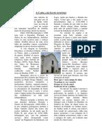 Capela de Santo António do Postigo - Diocese de Setúbal