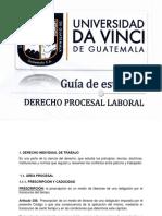 Guía Derecho Procesal Laboral