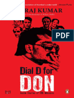 Dial D for Don Inside Stories of CBI Missions by Kumar Neeraj