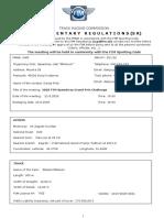 Supplementary Regulations - FIM Speedway Grand Prix Challenge - 22.08.2020 - Gorican CRO