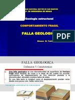 Tema- 3a - FALLAS GEOLOGICAS