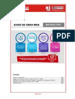 INSTRUCTIVO CARGA DE CARGA DE INICIO DE OBRA WEB (1)
