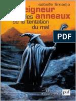 Isabelle Smadja-Le Seigneur des Anneaux ou la Tentation du mal-Presses Universitaires de France - PUF (2002)