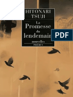 Tsuji, Hitonari - La promesse du lendemain