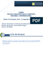 """OAVV_U4 Actividad 4.2 Proyecto Final. """"La Agenda Internacional"""""""