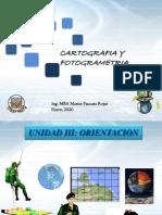 Cartografia y Fotogrametriaunidad 3