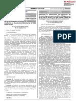 RESOLUCION MINISTERIAL N° 184-2020-MINEM/DM