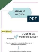POWER POINT MEDIOS DE CULTIVOS
