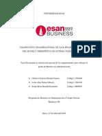 Hernán F. Gómez C. y otros Tesis de maestria ESAN - Diagnóstico organizacional de Caja Huancayo, a través del modelo cibernético del sistema viable de S. BEER - 2018.pdf