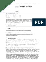 Rg 4757-2020 Afip Contribuciones Patronales