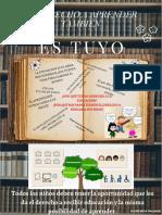 AFICHE DERECHO EDUCACION