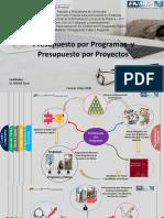 Presentación Presupuesto por Programas vs Proyectos -