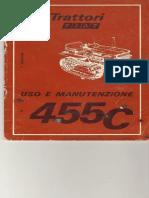 374278161 Manuale Uso Manutenzione Fiat 455C PDF