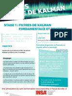 filtre kalman (stage 1)