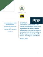 DSP SP-009-2019 Alamikamba-La Cruz de Rio Grande-San Pedro del Norte-El Tortuguero