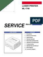 Samsung ML-1740 (service manual)