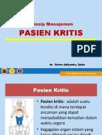 Prinsip Tx Px KRITIS-dr.BOW