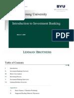 IBD Introduction