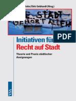 Www.vsa Verlag.de Holm Gebhardt Initiativen Fuer Ein Recht Auf Stadt