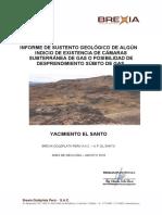Sustento Geologico de Indicio de Existencia de Camara Subterránea de Gas..doc
