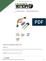 Sensor de Humedad de Suelo FC-28 - Tienda8