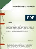 inactivacion de catalizadores por coquizacion
